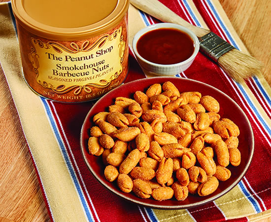 The Peanut Shop Smokehouse Barbecue Nuts 10.5oz
