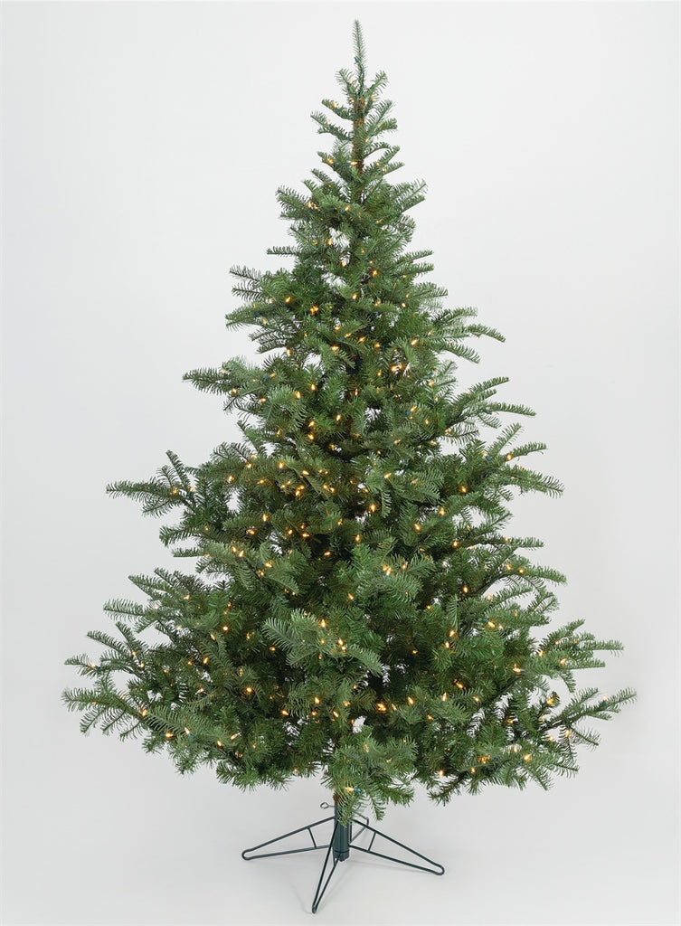 7' Instant Connect Pre-lit Artificial Christmas Tree