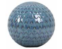 "9.75"" Scalloped Gazing Ball"