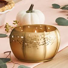 Heirlum Pumpkin 3-Wick Candle by Thymes