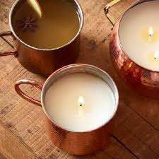 Simmered Cider Candle in Copper Mug