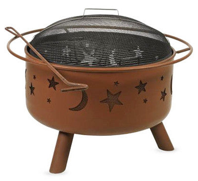 Big Sky Wood-Burning Fire Pit