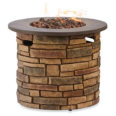"30"" Round Propane Fire Table"