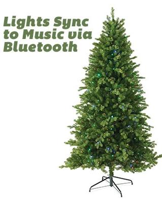 7.5' Northern Spruce pre-lit LED Artificial Christmas Tree