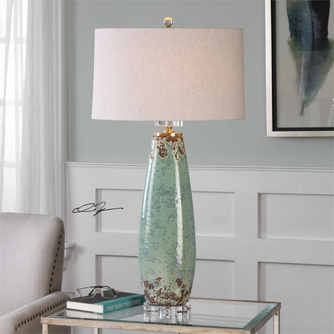 "35"" Rovasenda Ceramic Table Lamp"