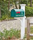 White Liberty Mail Post by Walpole Outdoors