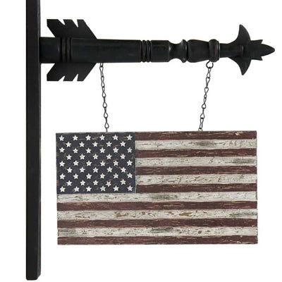 American Flag for Arrow Hanger
