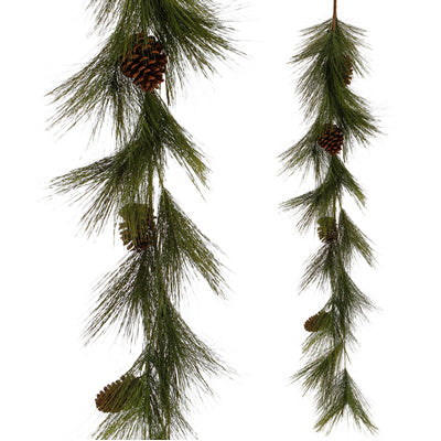 5' Artificial Needle Pine Garland