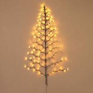5' Lighted Wall Tree