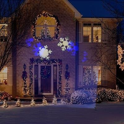 Snow Flurry Lightshow Projector