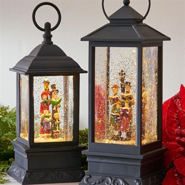 Lighted Caroler Water Lantern