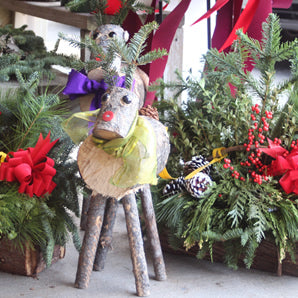 Make your own Rudi Cutie Log Reindeer Workshop November 16, 2019