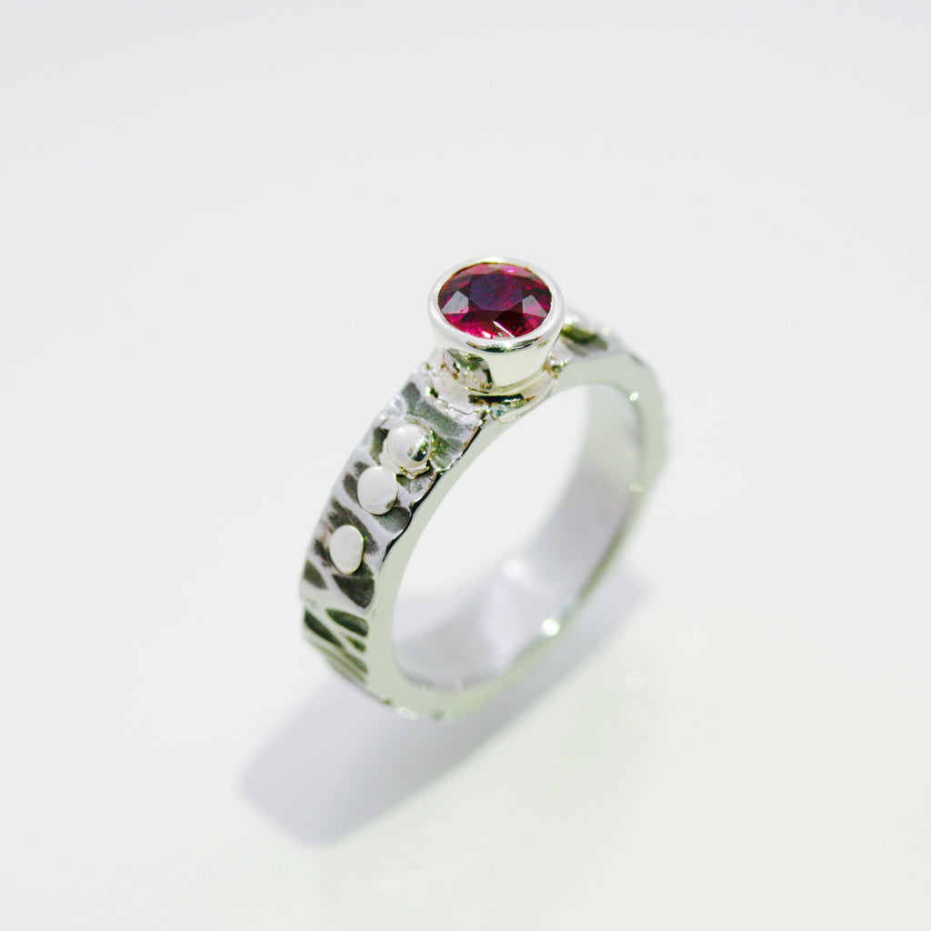 Tourmaline and Sterling SIlver Ring