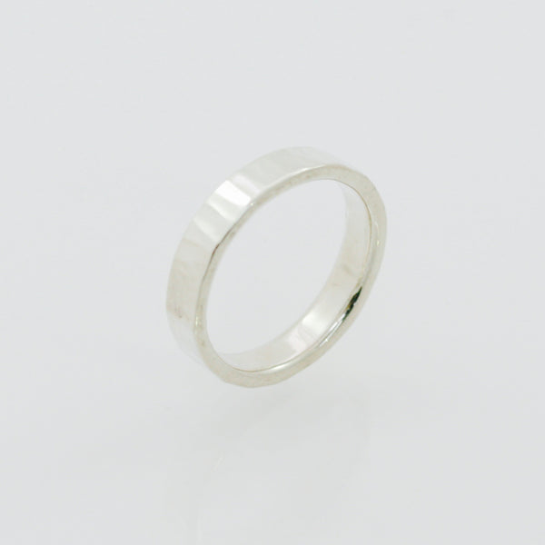Palladium Sterling Silver Ring