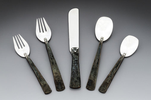 Craftsmen Style 5 Piece Place Setting