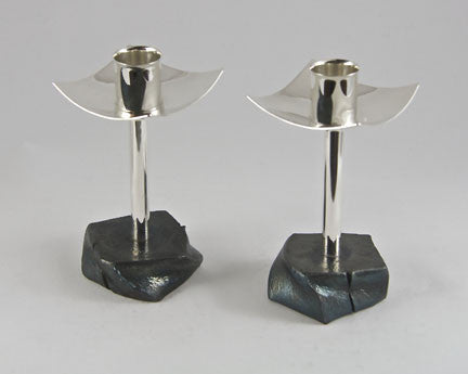 Tall Candlestick on Twist