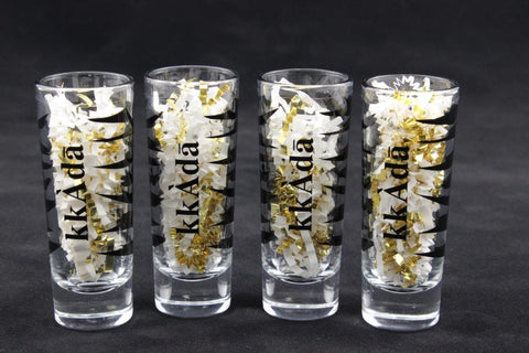 4 Pack Shot Glasses