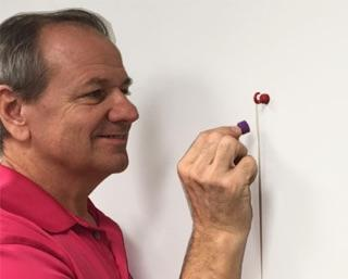 Using Pin Magnets to Install a Whiteboard