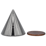 SuperMagnetMan Neodymium Cone Magnet.  Used as medical research magnets, sensor magnets, and robotics magnets.  These cone-shaped magnets are strong rare earth neodymium magnets that have a focused field at the tip. www.supermagnetman.com