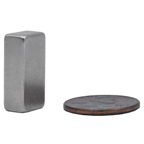 SuperMagnetMan Rubber Coated Rectangle Magnet.  Used as medical magnets, motor magnets, automotive magnets, holding magnets, and robotics magnets.  Strong rare earth neodymium magnets. www.supermagnetman.com