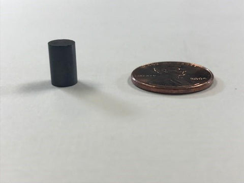 SuperMagnetMan Ferrite Cylinder Magnet.  Used as motor magnets, craft magnets, holding magnets, sensor magnets, and consumer electronics magnets.