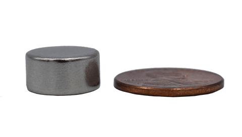 SuperMagnetMan Neodymium Disc Magnet.  Used as medical magnets, holding magnets, sensor magnets, consumer electronics magnets.  These disc magnets are strong rare earth neodymium magnets also used as automotive magnets.