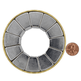 Halbach Arrays provide a stronger, uniform and more directed magnetic field than typical magnetic assemblies.Halbach arrays are good options for electric motors, medical research, particle accelerators and any application that requires a strong directed magnetic field.