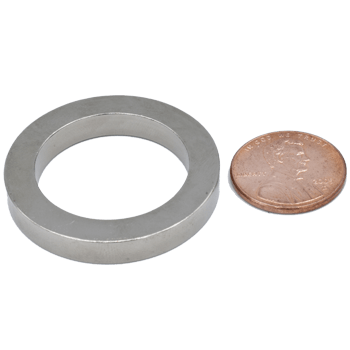 SuperMagnetMan Radial Ring Magnet.  Radial Rings can be made in a single piece or in segments.  Used as medical magnets, motor magnets, sensor magnets, consumer electronics magnets. www.supermagnetman.com