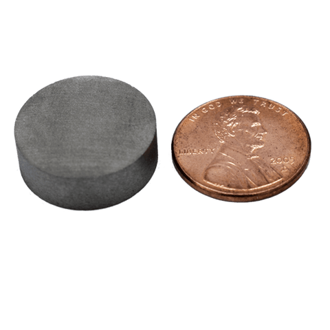 SuperMagnetMan Samarium Cobalt Disc Magnet.  Great as high temperature magnets. Used as aerospace magnets, military magnets, sensor magnets, consumer electronics magnets.  These disc magnets are strong rare earth SmCo magnets also used as automotive magnets.