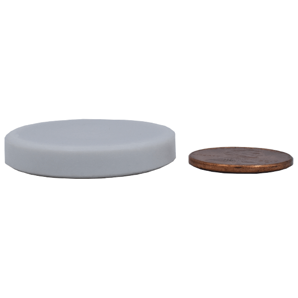 SuperMagnetMan Teflon Coated Neodymium Disc Magnet.  Used as medical magnets, sensor magnets, consumer electronics magnets.  Teflon coated disc magnets are strong rare earth neodymium magnet and the Teflon coating provides great protection to the neodymium magnet.