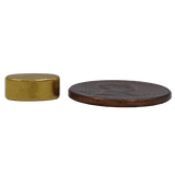 "Oval/ellipsoids (""Football"" shaped) pieces form a magnetic bracelet: 0.40"" (10mm) dia x 0.236"" (6mm) wide x 0.157"" (4mm), N38 Rare Earth Neodymium Magnet, Magnetized through the width. Gold Plated. Minimum Order Quantity (MOQ): 15 pcs"