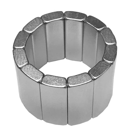SuperMagnetMan Neodymium Arc Motor Magnet.  Used as medical magnets, motor magnets, generator magnets, and pump magnets.  These arc motor magnets are strong rare earth neodymium magnets also used as automotive magnets.