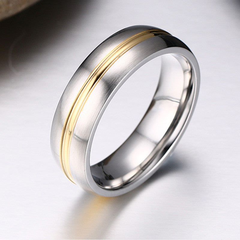 ... New Fashion Men Women Wedding Rings ...