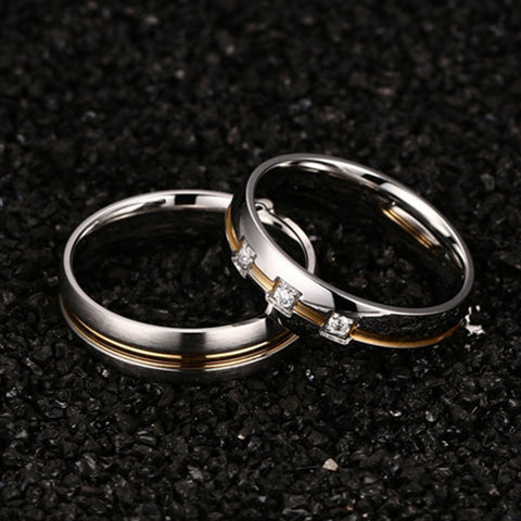 New Fashion Men Women Wedding Rings