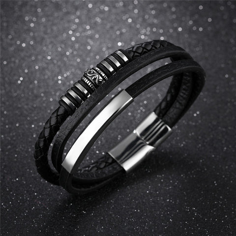 LOOKING GOOD- GENUINE LEATHER BRACELET (FREE SHIPPING)!