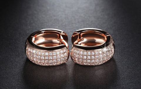New Style Luxury Austrian CZ Crystal Earrings