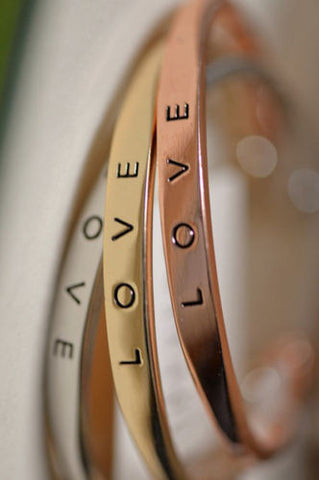 Stunning Love Bangle