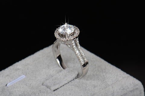 Luxury Stunning 925 Sterling Silver Ring