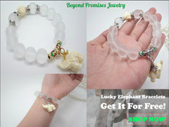 Charm Bracelets - **FREE** Amazing Lucky Elephants Bracelet (Gold/ Silver)- Just Pay Shipping!