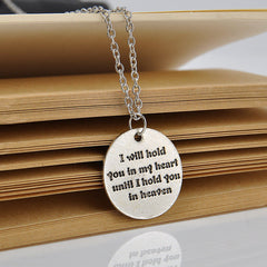 Memorable Words of Love Fashion Silver Charm Statement Love Necklace- Free Shipping!!