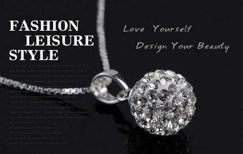 Pendants & Necklaces - Sparkling Crystal Rhinestone Pendant- Free Shipping