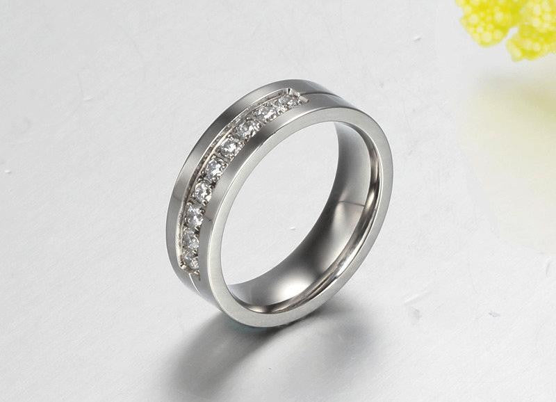 NEW DESIGN STUNNING UNIQUE COUPLES CRYSTAL WEDDING RINGS – Beyond ...