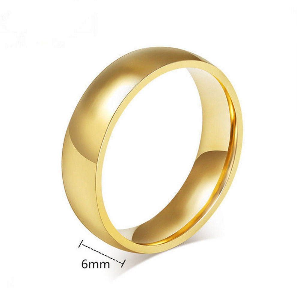 new gorgeous women men wedding bands silver gold blue us: 5-14 (uk
