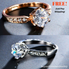 Image of ***FREE*** Beautiful 1.75ct AAA Zircon Engagement Rings for Women