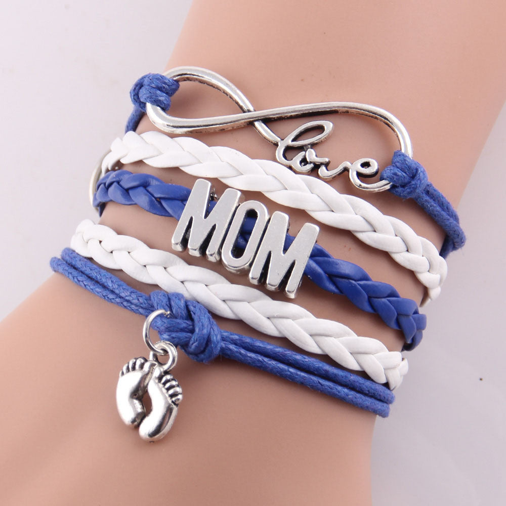 Cute And Trendy Infinity Love Grandmother Hearts And Baby\'s Feet ...