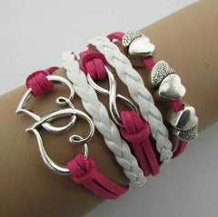 Vintage Infinity Bracelets - **FREE** LOVERS HEART INFINITY BRACELET- JUST PAY SHIPPING!
