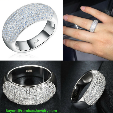 New Style Luxury Austrian CZ Crystal Ring
