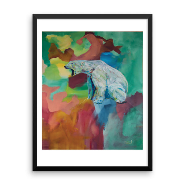 Polar Bear - Framed Print