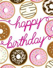 """Happy Birthday"" Donuts Greeting Card (GC45AP2022)"