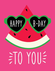 """Happy Birthday to you"" Greeting Card (GC45AP3009)"